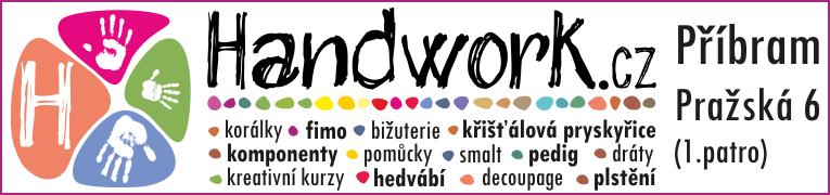 handwork.cz obchod s korálky a výtvarnými potřebamy Příbram